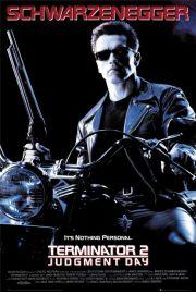 Terminator 2 - Arnold Schwarzenegger - plakat