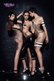 Fuel Girls - Dziewczyny z Tatuażem - sexy plakat