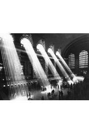 Nowy Jork - Grand Central Station - plakat