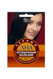 Odżywka koloryzująca do włosów HENNA – czarny FIT Fitocosmetic