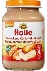 4 Mc Pasternak, Ziemniaki I Wołowina Bezglutenowe Bio 190 G - Holle
