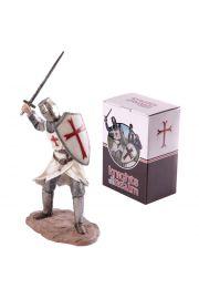 Krzyżowiec z mieczem atakujący, duży