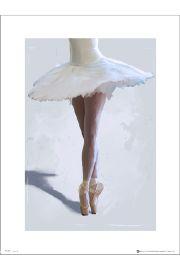 Ballet Ballerina Legs - art print