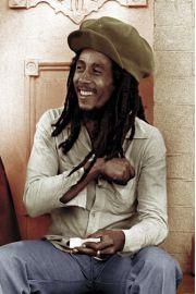 Bob Marley Rolling 2 - plakat