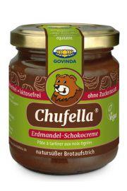 Chufella® Czekoladowy krem z migdałów ziemnych Chufa 220 g