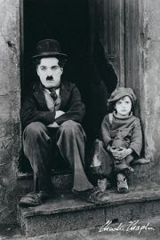 Charlie Chaplin - Brzdąc - plakat