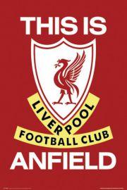 FC Liverpool - Godło Klubu - plakat