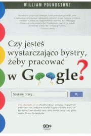 Czy jesteś wystarczająco bystry żeby pracować w Google