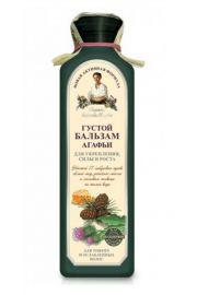 Ziołowy gęsty balsam do włosów z wyciągiem 17 syberyjskich ziół Agafii Recepty Babci Agafii.