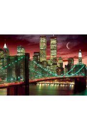 Nowy Jork Most w kolorze plakat 3D