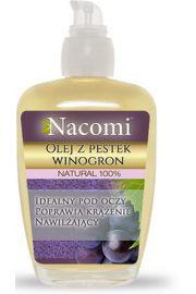 Olej z pestek winogron z pompką NACOMI
