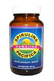Spirulina Hawajska Pacifica (120 tabletek) - suplement diety