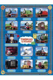 Tomek i Przyjaciele Bohaterowie - Thomas - plakat