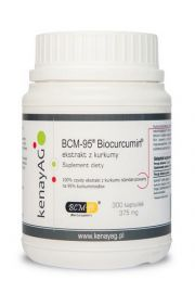 Kurkuma BCM-95® - ekstrakt (300 kapsułek) - suplement diety