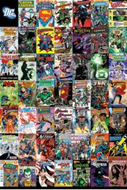 DC Comics - Ok�adki Komiks�w - plakat