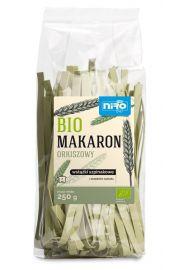Makaron (Orkiszowy Szpinakowy) Wstążki Bio 250 G - Niro
