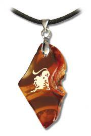 Amulet zodiakalny Lew