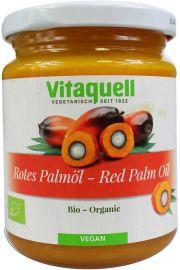 Olej Palmowy Czerwony Surowy Bio 200 G - Vitaquell