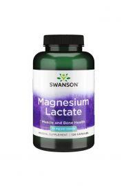 Swanson Magnez Lactate (Mleczan magnezu) 84mg 120 kaps.