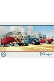 Volkswagen Klasyka Aut - plakat