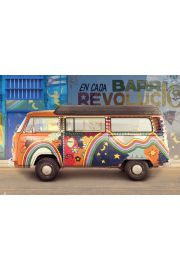 VW Camper Kuba - plakat