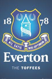Everton - The Toffees - God�o Klubu - plakat