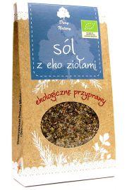 Sól Z Ziołami Bio 100 G - Dary Natury