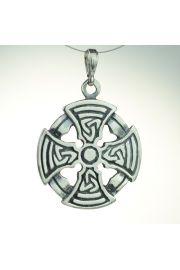 Krzyż celtycki - okrągły, srebro