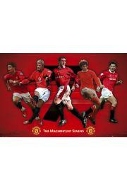 Manchester United Legendy Klubu - plakat