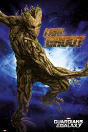 Strażnicy Galaktyki Groot - plakat