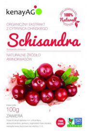 SCHISANDRA (cytryniec chiński) 5:1 - organiczny ekstrakt - 100g
