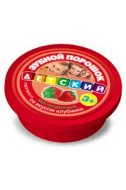 Proszek do zębów dla dzieci 3+ Truskawka FIT Fitocosmetic