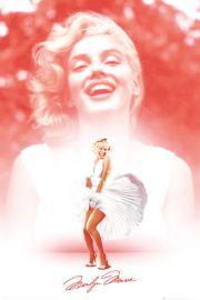 Marilyn Monroe Pink - plakat