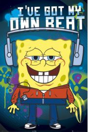 Spongebob Kanciastoporty - Mój Własny Bit - plakat
