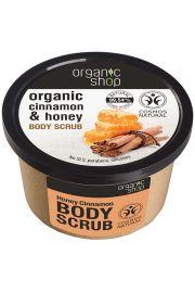 Organiczny Peeling do Ciała Cynamon i Miód OS Organic Shop