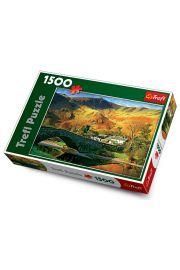 Puzzle 1500 elementów. Most nad rzeką Derwent, Cumbria, Anglia