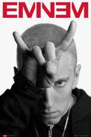 Eminem Horns - plakat