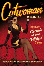Dc Comics Catwoman Bombshell - plakat