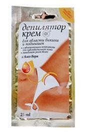 Nawilżający krem do depilacji bikini i pach z Aloe Vera FIT Fitocosmetic