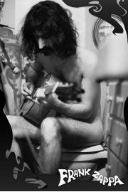 Frank Zappa - Koncert w Toalecie - plakat