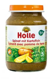 4 Mc Szpinak Z Ziemniakami Bezglutenowe Bio 190 G - Holle