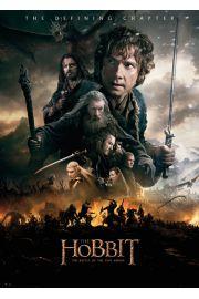 The Hobbit Bitwa Pięciu Armii Ogień - plakat