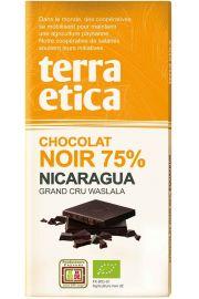 Czekolada Gorzka 75% Nikaragua Fair Trade Bio 100 G - Terra Etica