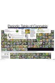 Układ Okresowy Marihuany - plakat