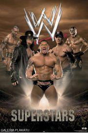 WWE Wrestling Superstars five - plakat