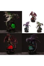 Smoki Dark Legends - Smok w jaskini LED