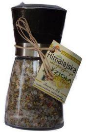 Młynek Avangarde z solą himalajską, ziołami i cytryną