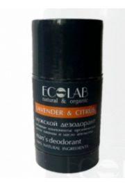 100% Nat Dezodorant dla m�czyzn w kulce Lawenda&Pomara�cza ECO ECOLAB