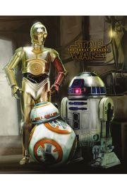 Star Wars Gwiezdne Wojny - Roboty - plakat