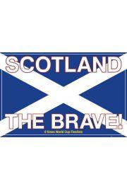 Szkocja The Brave - Piłka Nożna - plakat